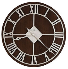 "625-496 PRICHARD  15"" DIAMETER WALL CLOCK BY  HOWARD MILLER   625496"
