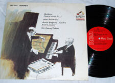 RUBINSTEIN BEETHOVEN PIANO CONCERTO LEINSDORF RCA LIVING STEREO LSC-2947 LP