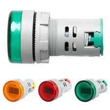 22 MM Digital Display Voltmeter Lights Combo AC 60V-450V Indicator