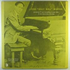 "12"" LP - Ferd Jelly Roll Morton - Piano Solos By The King Of Jaz - L5122h"
