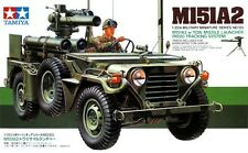 Tamiya 35125 1/35 Scale Model Kit U.S. Jeep M151A2 Truck w/Tow Missile Launcher