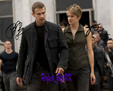 Shailene Woodley Theo James Insurgent - SIGNED AUTOGRAPHED 10X8 PRE-PRINT PHOTO