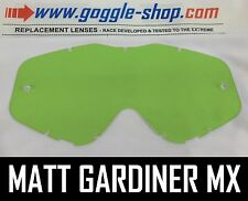 Goggle-shop Lente Para Spy Targa 3 / Whip / Klutch Motocross Gafas Color Verde