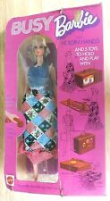 Vintage 1971 Busy Barbie With Holding Hands Mattel NRFB 3311 Doll