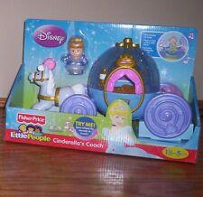 Little People Disney Princess CINDERELLA'S COACH Carriage with Sounds 4 Castle