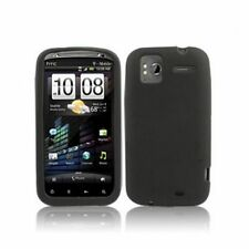 CUSTODIA COVER Per HTC SENSATION XE G14 Z710 Silicone TPU MORBIDO NERO CASE