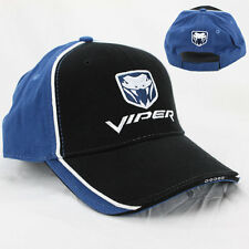 Original Dodge Viper Snake Logo US Muscle Car Basecap Mütze Trucker Baseball Cap
