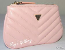 Guess Key Chain  Wallet Handbag Hand Bag Purse Coin  Case Tote Pouch NWT Pink
