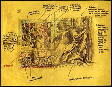 RAGMAN REPRO 1976 RAGMAN NO 1 ARTWORK BY JOE KUBERT . DC COMICS