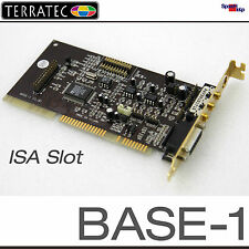 ISA AUDIO SOUND CARD KARTE TERRATEC BASE-1 ANALOG DEVICES AD1816 WIN 95 98 DOS