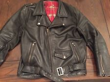 brimaco Motorcycle Leather Cafe Racer Jacket Vintage 1