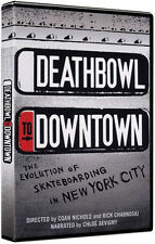 Deathbowl to Downtown The evolution of skateboarding in New York City Extreme