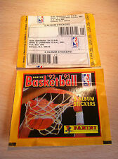 Bustina Packet Nuova PANINI USA NBA Basketball 1992-93 1993 - 6 Stickers