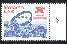 Monaco 2004 Council of Europe/Emblem/Monte-Carlo/Harbour 1v (n39124)