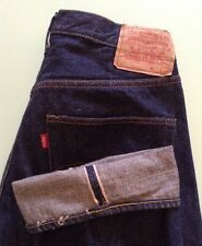 "VINTAGE 60""s LEVI'S 501 BIG E REDLINE SELVEDGE JEANS USA BARN FIND SEE DESCRIPT"