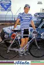 MARCO VITALI Team ATALA OFMEGA Signed Autografo signé signature ciclismo