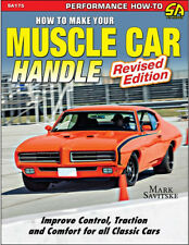 How to Make Your Muscle Car Handle Book~Geometry-Engineering~NEW Rev 2015 Ed