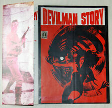 brochure film DEVILMAN STORY Guy Madison Luisa Baratto Paolo Bianchini 1967