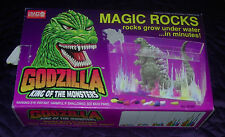 GODZILLA  MAGIC ROCKS  1995  UNUSED IN BOX  CRAFT HOUSE  TOHO