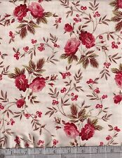 Red Rooster Fabrics 100% cotton   Bed Of Roses  26256 ivo1  by the yard