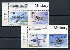 Irlanda/Ireland/Eire 2000 Aviazione militare in coppia MNH
