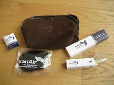 Iran Air Amenity Kit Leather-made
