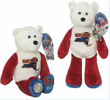 #11 New York State Quarter Coin Collectible Plush Stuffed Bear Limited Treasures