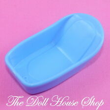 Fisher Price Loving Family Dream Dollhouse Blue Baby Doll Bath tub Nursery Room