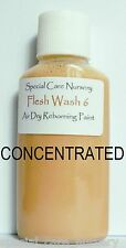 30ml - CONCENTRATED FLESH 6 - SCN Air dry Reborning Paints