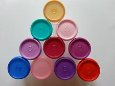 Tupperware Multi-Color Midgets Set of 10 pieces - RARE COLLECTIBLE!!