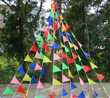 100 flags wedding birthday party string flag pennant bunting flags Banner