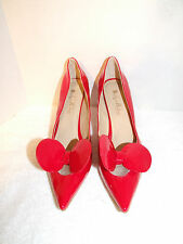 Onlymaker strappy high heel platform sandals SZ 13 Women's  Red BOW