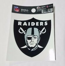 "Oakland Raiders 3 x 4"" Small Static Cling - Truck Car Auto Window Decal NEW"