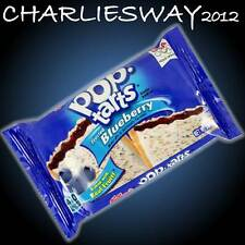 KELLOGGS POPTARTS 100Gr BLUEBERRY CEREALI RIPIENI MIRTILLI MADE IN AMERICA SNACK