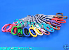 3 PCS(NEON PINK&NEON GREEN&TEAL)UTILITY BANDAGE TRAUMA EMT SHEARS SCISSORS 7.25""