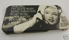 for Iphone 5 phone case Marilyn Monroe How to Marry Millionaire quite busy