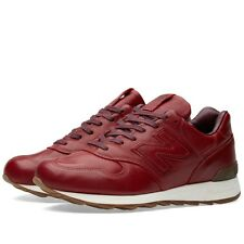 NEW BALANCE 1400 MEN'S SIZE US 9.5 BURGUNDY HORWEEN LEATHER MADE IN USA M1400BR