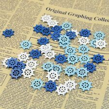 50Pcs Mini Wooden Sea Rudder Nautical Craft Scrapbooking Embellishment Decor