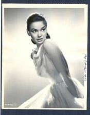 VERY SEXY KATHRYN GRANT KEY BOOK PHOTO- 1957 OPERATION MADBALL - SINBAD PRINCESS