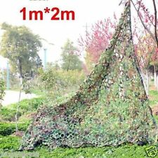 "New Woodland leaves Camouflage Camo Net netting Camping Military 39*78"" 1x2m #02"