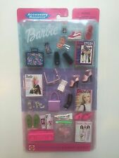 2002 FASHION AVENUE ACCESSORY BONANZA BARBIE DOLL SCHOOL ACCESSORIES NEW NRFB