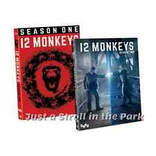 12 Monkeys: Aaron Stanford TV Series Complete Seasons 1 & 2 Box / DVD Set(s) NEW