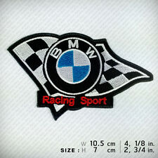 New BMW Embroidered Patch Iron on, sew, TOP RACING Sports Victory Champion Win