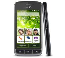 New Doro Liberto 820 Mini Black 3G Android Smartphone WIFI Easy To Use Unlocked