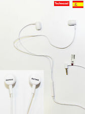 Auriculares Para Blackberry 9370 Con Microfono Blanco White Headphones Calidad