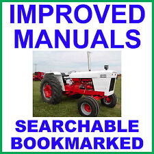 Case David Brown 885 995 1210 Tractor SERVICE SHOP MANUAL BEST = SEARCHABLE CD