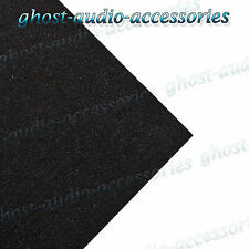 1m x 1.5m Black Acoustic Cloth / Carpet for parcel shelf / boot/van lining