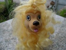 Vintage 1989 Sweetie Pups Toy Yellow Poodle Puppy Dog Hasbro My Little Pony