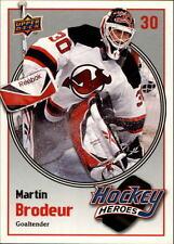2009-10 Upper Deck Hockey Heroes #HH12 Martin Brodeur Devils