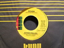 ESTHER PHILLIPS (w/ JOE BECK) - Fever / For All We Know    KUDU 929 - 45rpm